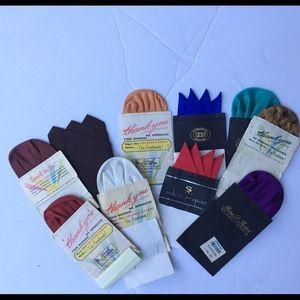 NWT vintage silk pocket squares lot of 10